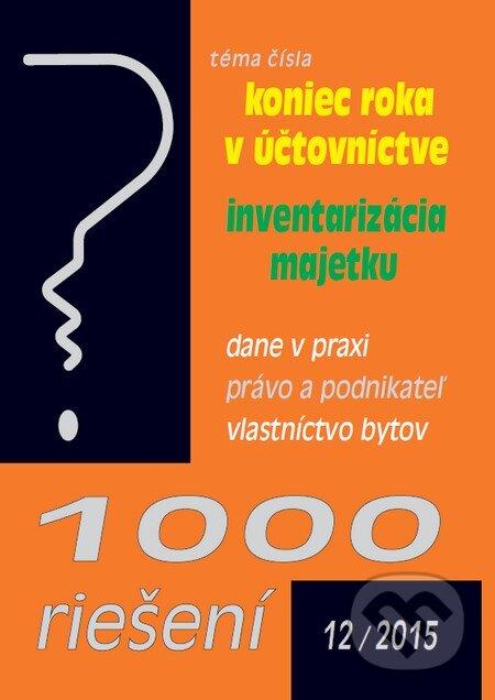 Removu.cz 1000 riešení 12/2015 Image