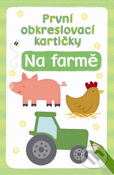 První obkreslovací kartičky: Na farmě -