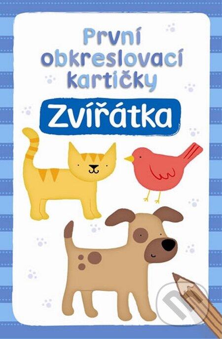 První obkreslovací kartičky: Zvířátka - Svojtka&Co.