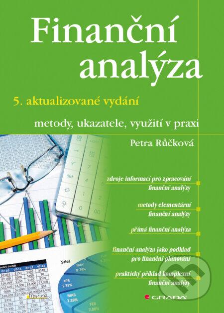 Finanční analýza – 5. aktualizované vydání - Petra Růčková