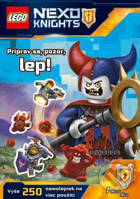 Siracusalife.it LEGO NEXO KNIGHTS: Priprav sa, pozor, lep! Image