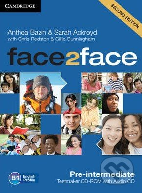 Face2Face: Pre-intermediate - Testmaker CD-ROM and Audio CD DVD