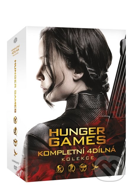Hunger Games kolekce 1-4 - Francis Lawrence, Gary Ross