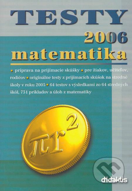 Testy 2006 matematika - Didaktis