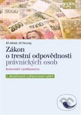 Fatimma.cz Zákon o trestní odpovědnosti právnických osob a řízení proti nim, komentář s judikaturou Image