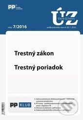 Fatimma.cz Úplné znenia zákonov 7/2016 Image