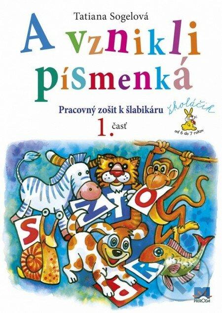 Fatimma.cz A vznikli písmenká (Pracovný zošit k šlabikáru, 1. časť) Image