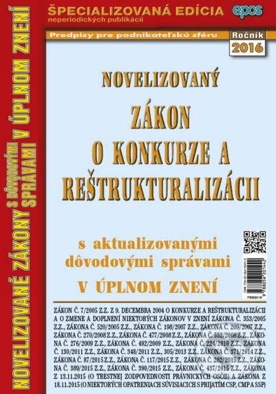 Peticenemocnicesusice.cz Novelizovaný zákon o konkurze a reštrukturalizácii Image