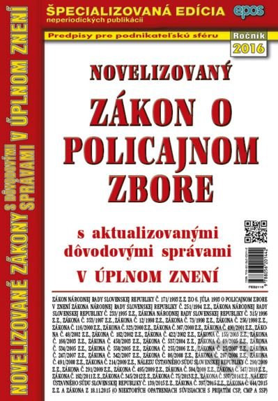 Fatimma.cz Novelizovaný Zákon o policajnom zbore Image