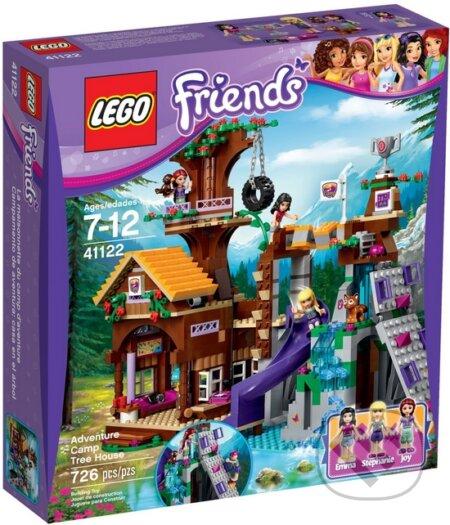 Lego Friends 41122 Dobrodružný Tábor Dom Na Strome Lego Martinus