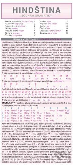 Fatimma.cz Hindština – souhrn gramatiky Image