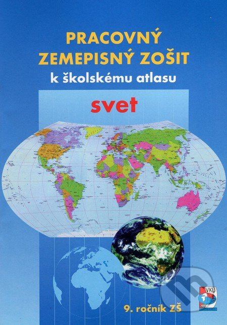Removu.cz Pracovný zemepisný zošit k školskému atlasu svet Image