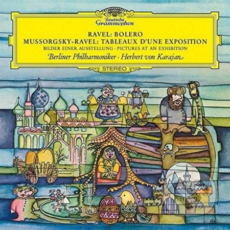 Modest P. Mussorgsky, Maurice Ravel: Pictures at an Exhibition, Bolero LP - Modest P. Mussorgsky, Maurice Ravel