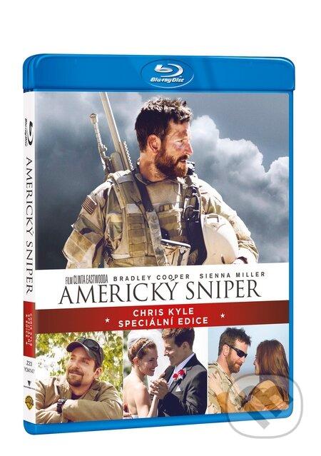 Americký sniper Speciální edice Blu-ray