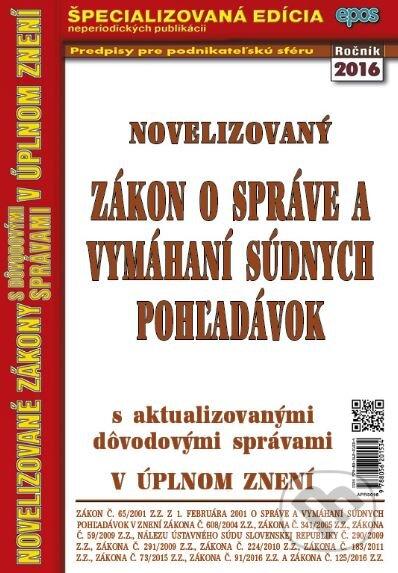 Fatimma.cz Novelizovaný Zákon o správe a vymáhaní súdnych pohľadávok Image