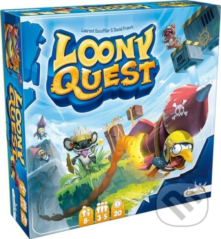 Loony Quest - Laurent Escoffier, David Franck