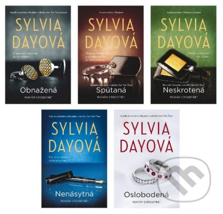 Crossfire 1-5 (komplet) - Sylvia Day