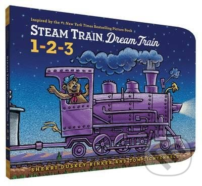 Steam Train, Dream Train: 1-2-3 - Sherri Duskey Rinker