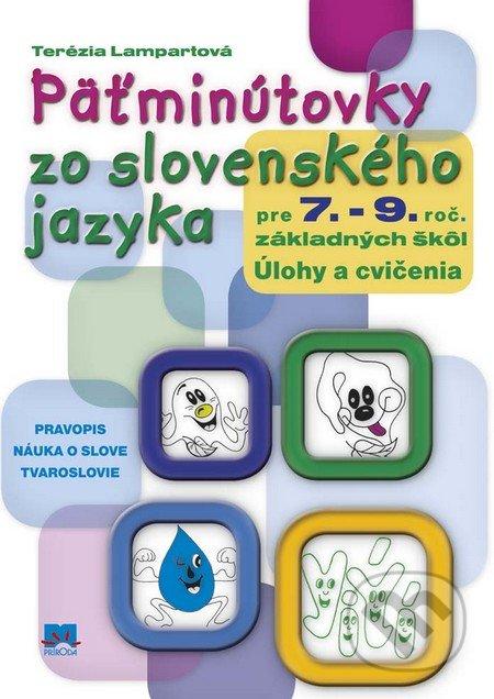 Fatimma.cz Päťminútovky zo slovenského jazyka pre 7. - 9. ročník základných škôl Image