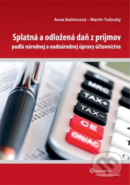 Fatimma.cz Splatná aodložená daň zpríjmov podľa národnej anadnárodnej úpravy účtovníctva Image