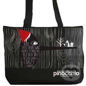 The Adventures of Pinocchio (Tote Bag) -