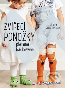 f2c6ec7dfab2 Kniha  Zvířecí ponožky (Elke Reith a Sabine Schidelko)