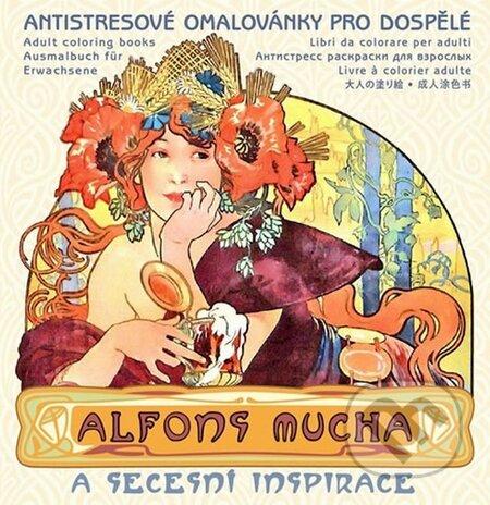 Peticenemocnicesusice.cz Alfons Mucha - Antistresové omalovánky pro dospělé Image