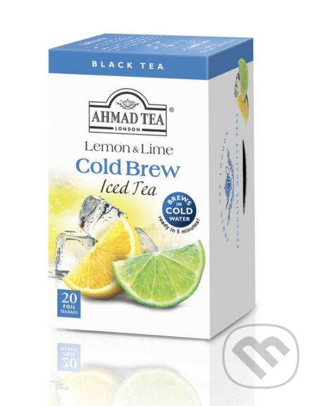 Cold Brew Iced Tea Citrón & Limetka -