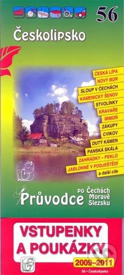Peticenemocnicesusice.cz Českolipsko 56. - Průvodce po Č,M,S + volné vstupenky a poukázky Image