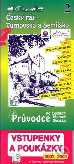 Fatimma.cz Český ráj - Turnovsko a Semilsko 2. - Průvodce po Č,M,S + volné vstupenky a poukázky Image