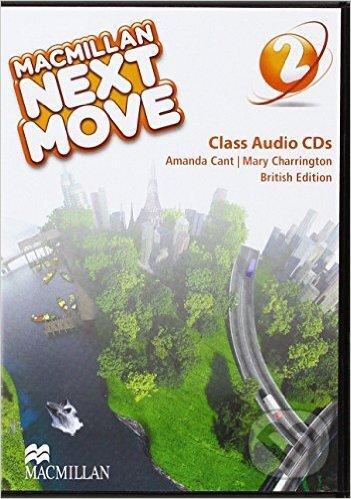 Macmillan Next Move 2.: Class Audio CDs - Amanda Cant