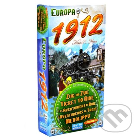 Ticket to Ride: Europe 1912 - Alan R. Moon