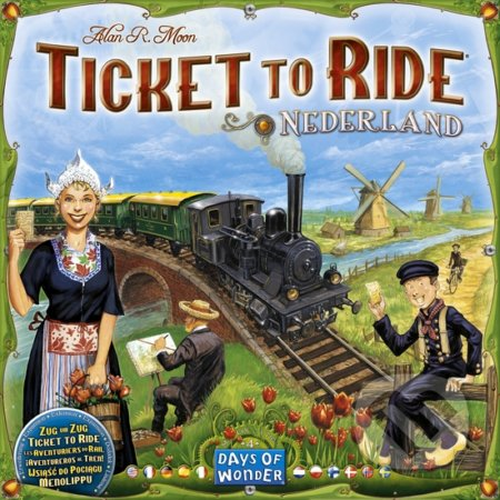 Ticket to Ride Map Collection: Nederland - Alan R. Moon