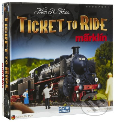 Ticket to Ride Märklin - Alan R. Moon