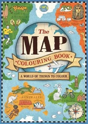 The Map Colouring Book - Natalie Hughes