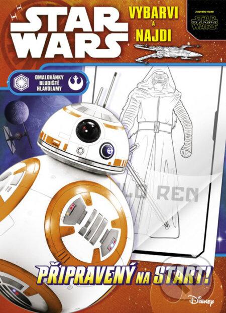 Star Wars: vybarvi a najdi - Nakladatelství Fragment