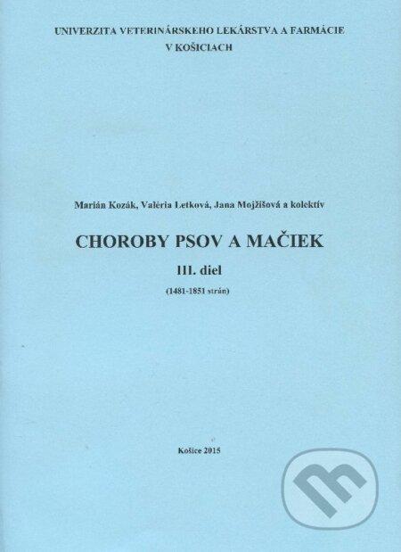 Peticenemocnicesusice.cz Choroby psov a mačiek - III. diel Image