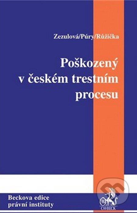 Fatimma.cz Poškozený a adhezní řízení v České republice Image