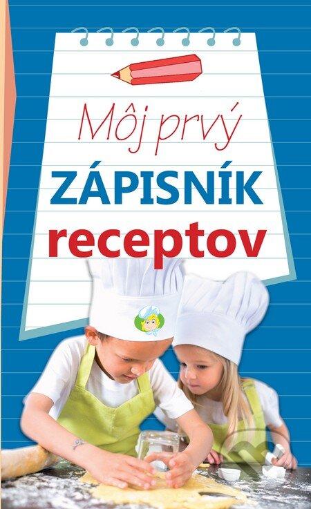 Fatimma.cz Môj prvý zápisník receptov (modrý) Image