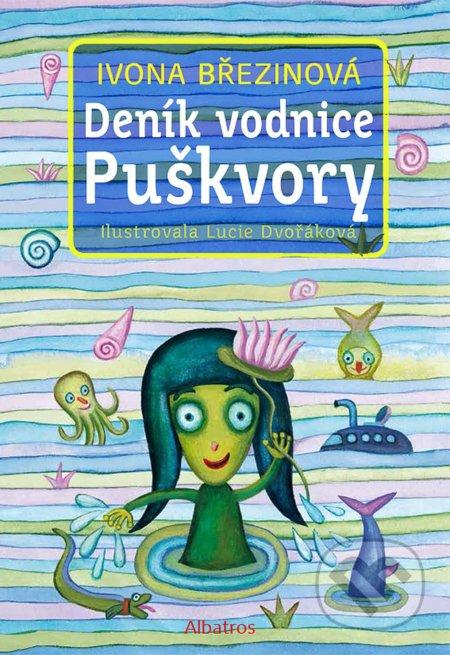 Deník vodnice Puškvory - Ivona Březinová, Lucie Dvořáková (ilustrátor)