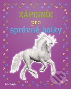 Fatimma.cz Zápisník pro správné holky - Jednorožec Image