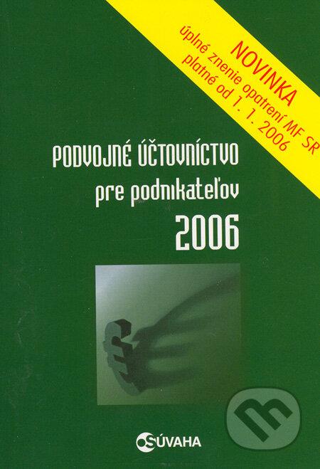 Fatimma.cz Podvojné účtovníctvo pre podnikateľov 2006 Image