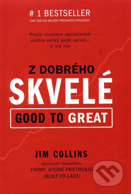 Z dobrého skvelé (Good to Great) - Jim Collins