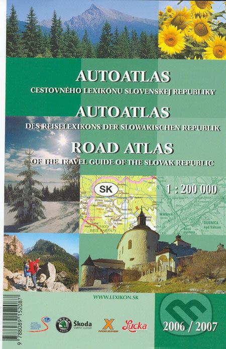 Interdrought2020.com Autoatlas cestovného lexikónu Slovenskej republiky 2006/2007 Image