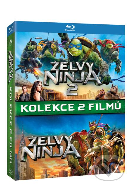 Želvy Ninja kolekce 1.-2. Blu-ray