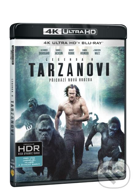Legenda o Tarzanovi Ultra HD Blu-ray UltraHDBlu-ray