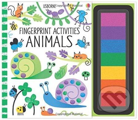 Fingerprint Activities: Animals - Fiona Watt