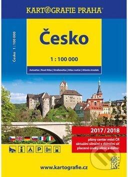 Excelsiorportofino.it Autoatlas Česko 1:100 000 Image