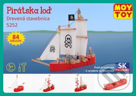 MOY TOY Pirátska loď - MOY TOY