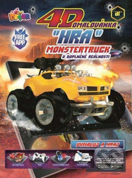 Beenode.cz 4D omalovánka Monster Truck Image